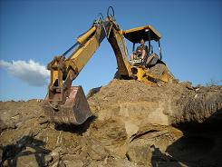 chris on cbackhoe