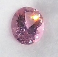 pink faceted tourmaline